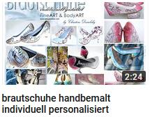 Brautschuhe handbemalt, individuell personalisiert vom Künstler, mit Airbrush Technik, birde shoes individualized, personalized direktly from the artist Christine Dumbsky, she works internationally and may paint your dream shoes how you imagine them. la artista podria pintar tu zapados suenos como quieres exactamente la artista esta especializado pinta zapados por la boda  por la novia y su novio con motivos como nombre, flores, fetcha de boda etc.