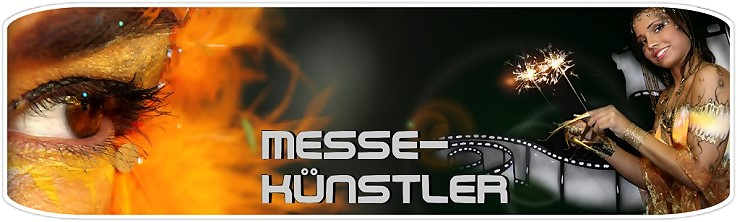 Messekünstler, Messekuenstler, Live Painting - Actionpainting - live on canvas, cars or customer displays
